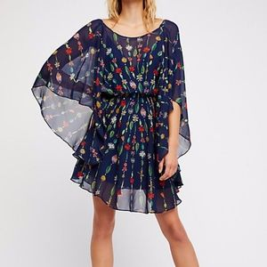 Free People Stand Inside your Love Mini Dress